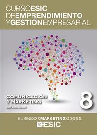 COMUNICACION Y MARKETING - CURSO ESIC 8