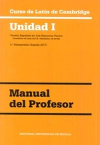 Curso De Latin De Cambridge Guia - Unidad I - Aa. Vv.