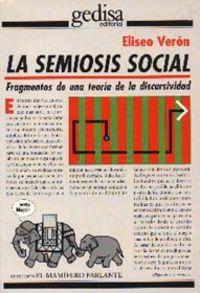 SEMIOSIS SOCIAL, LA