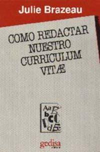 Como Redactar Nuestro Curriculum Vitae - Julie Brazeau