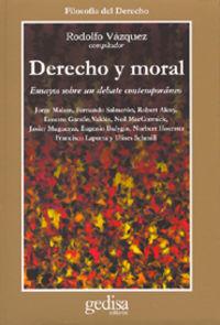 DERECHO Y MORAL
