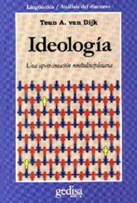 IDEOLOGIA - UNA APROXIMACION MULTIDISCIPLINARIA