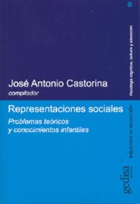 Representaciones Sociales - Jose Antonio Castorina
