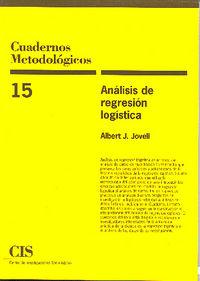 ANALISIS DE REGRESION LOGISTICA