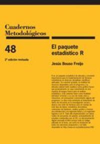 (2 ED) PAQUETE ESTADISTICO R, EL