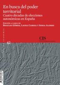 EN BUSCA DEL PODER TERRITORIAL - CUATRO DECADAS DE ELECCIONES AUTONOMICAS EN ESPAÑA