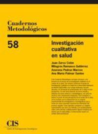 INVESTIGACION CUALITATIVA EN SALUD