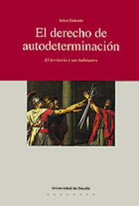 DERECHO DE AUTODETERMINACION, EL