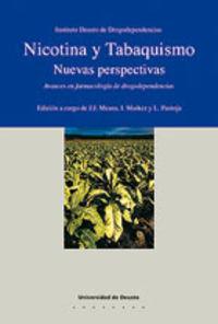 NICOTINA Y TABAQUISMO - NUEVAS PARSPECTIVAS