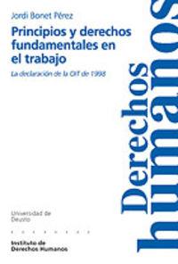 PRINCIPIOS Y DERECHOS FUNDAMENTALES EN EL TRABAJO