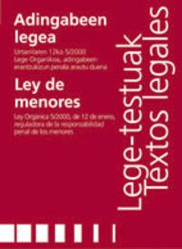 ADINGABEEN LEGEA = LEY DE MENORES