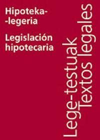 HIPOTEKA-LEGERIA / LEGISLACION HIPOTECARIA