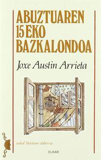 ABUZTUAREN 15EKO BAZKALONDOA