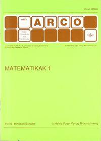 Matematikak 1 - Hans-Hinreich Schulte / Heinz Vogel