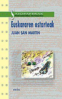 Euskararen Ostarteak - Juan San Martin