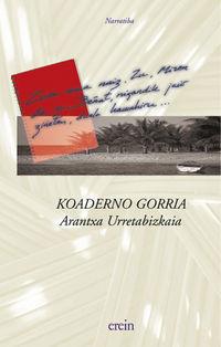 Koaderno Gorria - Arantxa Urretabizkaia
