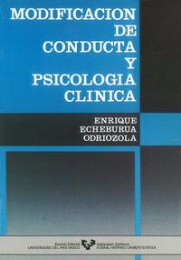 MODIFICACION DE CONDUCTA Y PSICOLOGIA CLINICA