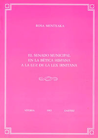 SENADO MUNICIPAL BETICA HISPANIA - ANEJO VELEIA