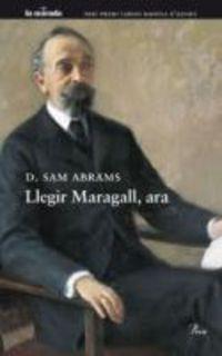 LLEGIR MARAGALL, ARA