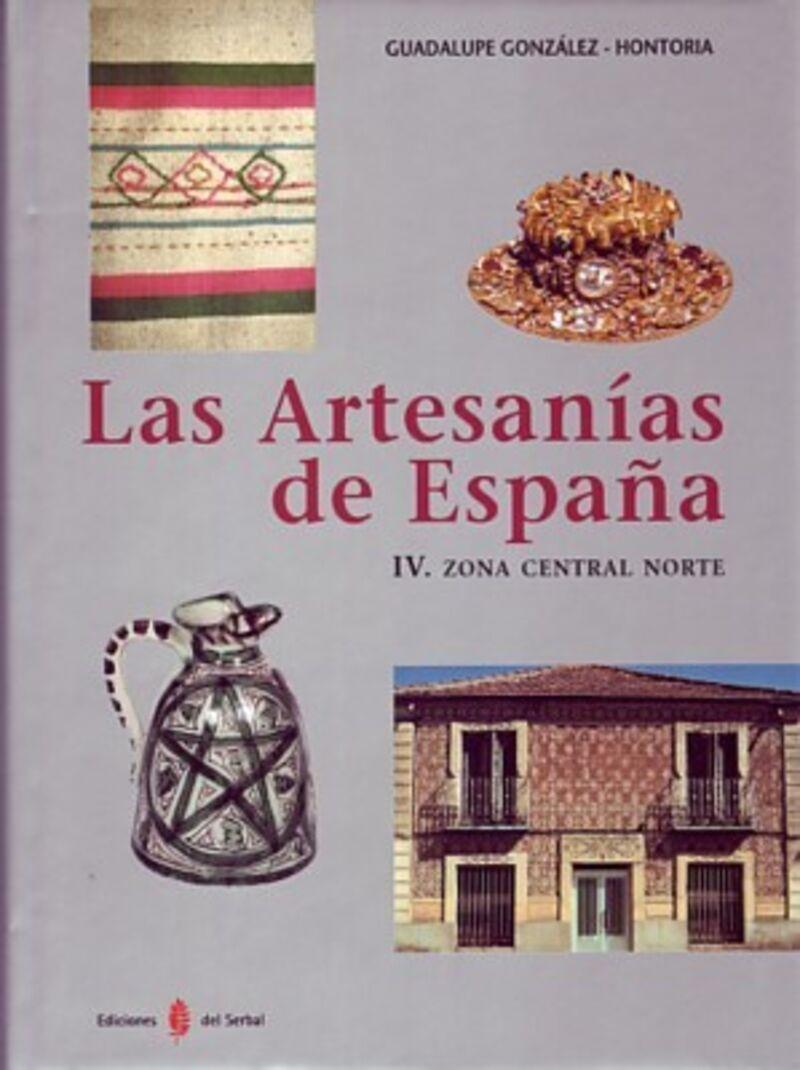 ARTESANIAS DE ESPAÑA, LAS IV - ZONA CENTRAL NORTE