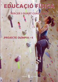 Eso 3 / 4 - Olimpia-4. Educacio Fisica (cataluña) - Aa. Vv.