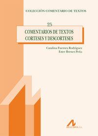 Comentarios De Textos Corteses Y Descorteses - Catalina Fuentes Rodriguez