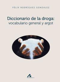 DICCIONARIO DE LA DROGA - VOCABULARIO GENERAL Y ARGOT