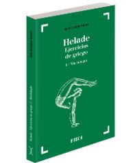 HELADE I - MORFOLOGIA - EJERCICIOS DE GRIEGO