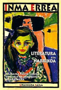 literatura eta harrikoa - Inma Errea