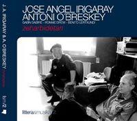 (cd+lib) Zeharbidetan - J. A. Irigaray & Antoni O'breskey - Gabin Dabire / Ronnie Drew / Benito Lertxundi