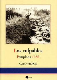 CULPABLES, LOS - PAMPLONA 1936
