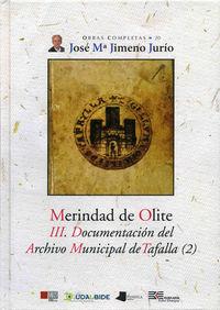 merindad de olite - iii. documentacion del archivo municipal tafalla2 - Jose Maria Jimeno Jurio