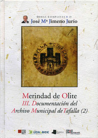 MERINDAD DE OLITE - III. DOCUMENTACION DEL ARCHIVO MUNICIPAL TAFALLA2