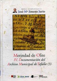 MERINDAD DE OLITE - IV. DOC. DEL ARCHIVO MUNICIPAL DE TAFALLA 3