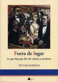 fuera de lugar - Victor Moreno Bayona