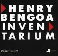 (cd+lib) Henry Bengoa Inventarium - Bernardo Atxaga / Iturralde / Jimu & Ordorika