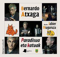 (dvd+lib) Paradisua Eta Katuak - Bernardo Atxaga / Jabier Muguruza