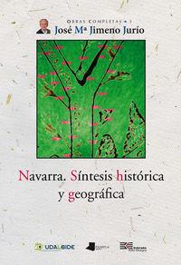 NAVARRA - SINTESIS HISTORICA Y GEOGRAFICA