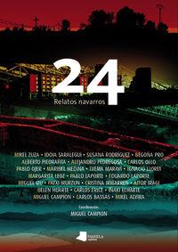 24 Relatos Navarros - Aa. Vv.