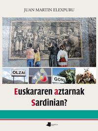 Euskararen Aztarnak Sardinian? - Juan Martin Elexpuru Agirre