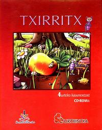 (CD-ROM) TXIRRITX (URTXINTXA PROIEKTUA) 4 URTE
