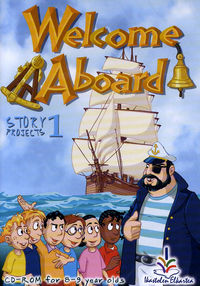 (cd-Rom) Welcome Aboard - Story Projects 1 - Batzuk