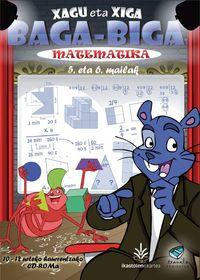 (CD-ROM) LH 5 / 6 - XAGU ETA XIGA - TXANELA - MATEMATIKA