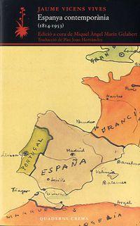 Espanya Contemporania (1814-1953) - Jaume Vicens I Vives
