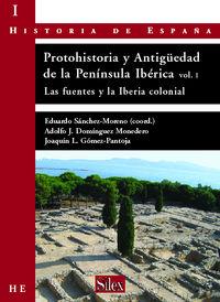 PROTOHISTORIA Y ANTIGUEDAD DE LA PENINSULA IBERICA 1