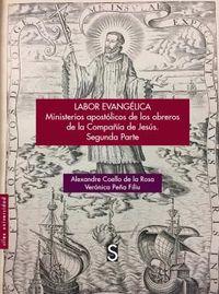 LABOR EVANGELICA - MINISTERIO APOSTOLICO DE LOS OBREROS DE LA COMPAÑIA DE JESUS