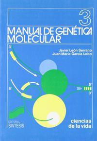 MANUAL DE GENETICA MOLECULAR