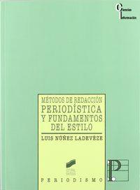 METODOS DE REDACCION PERIODISTICA