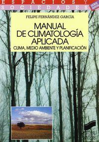 MANUAL DE CLIMATOLOGIA APLICADA