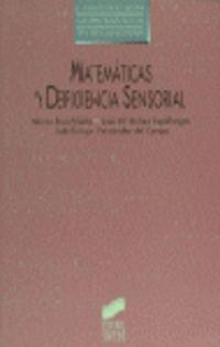 MATEMATICAS Y DEFICIENCIA SENSORIAL